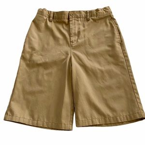 LANDS' END Kids Khaki Shorts Size 20S XL 15-16 yrs